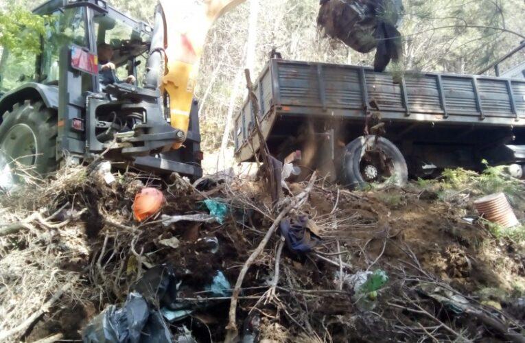 Cabeceiras de Basto recolhe mais 32 toneladas de resíduos diversos em lixeiras clandestinas
