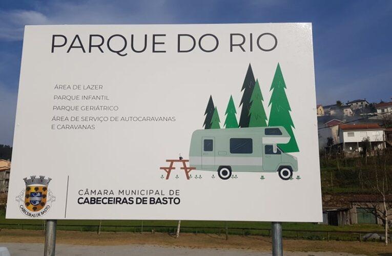 Parque do Rio preparado para pernoita de caravanas e autocaravanas